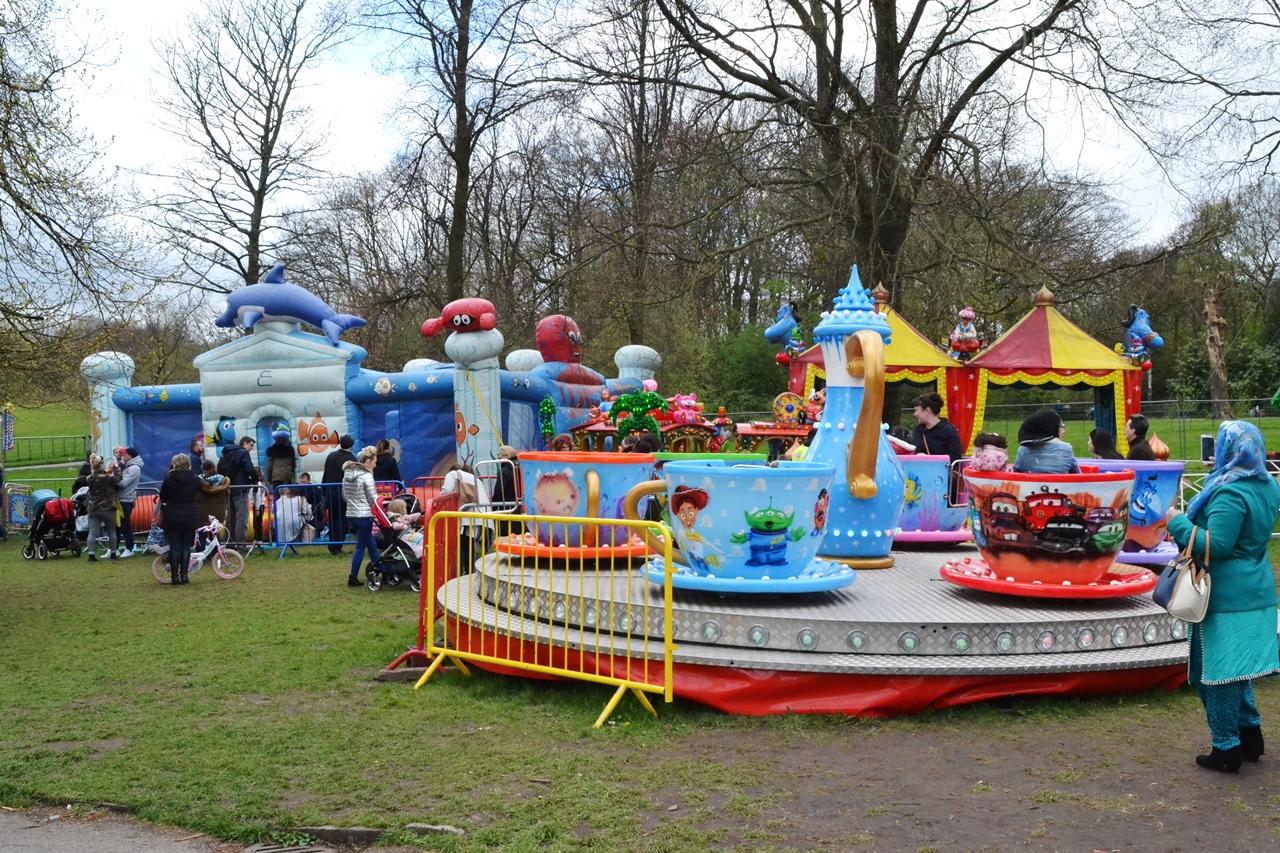 heaton park fair day out