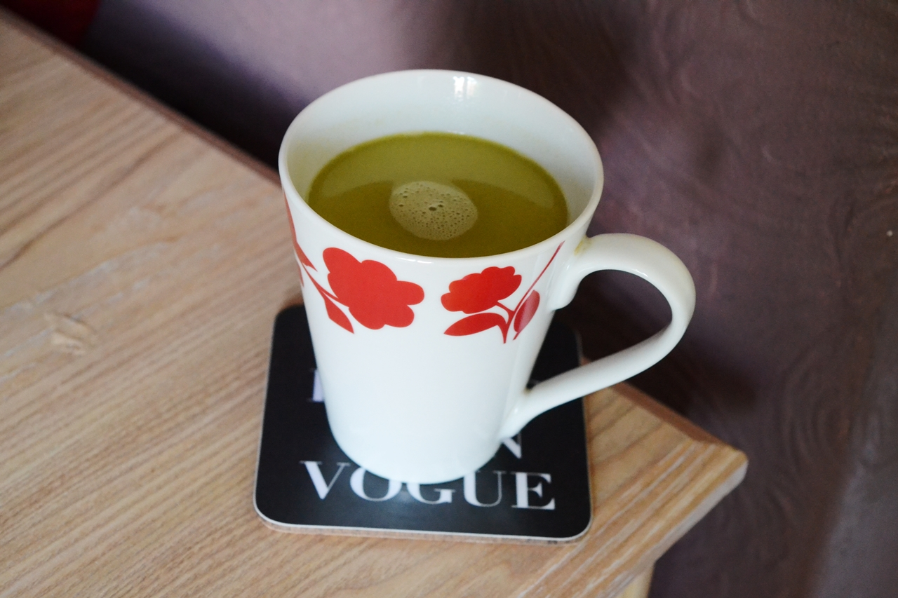 Green Hot Chocolate: as strange as it sounds?