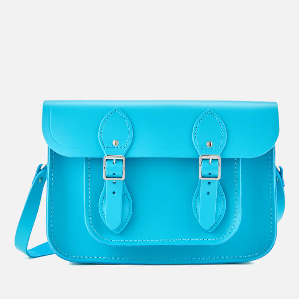 Neon Blue Satchel Bag- £81 Cambridge Satchel
