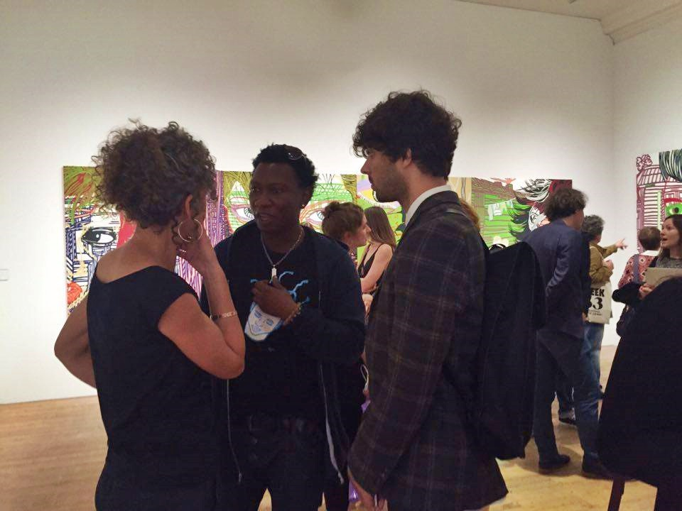 boris nzebo comes to manchester art gallery urban style