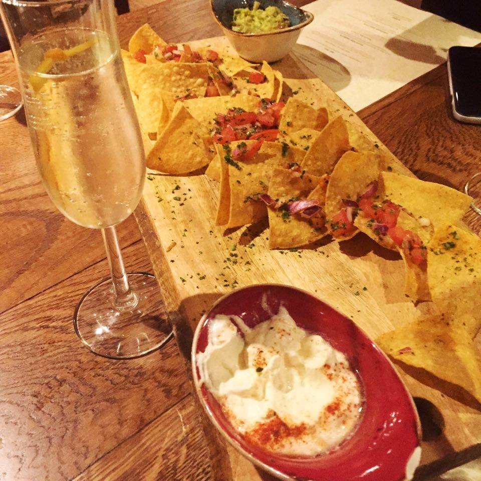 Chiquitos #ChiquilaChiquito homemade tortilla chips dips