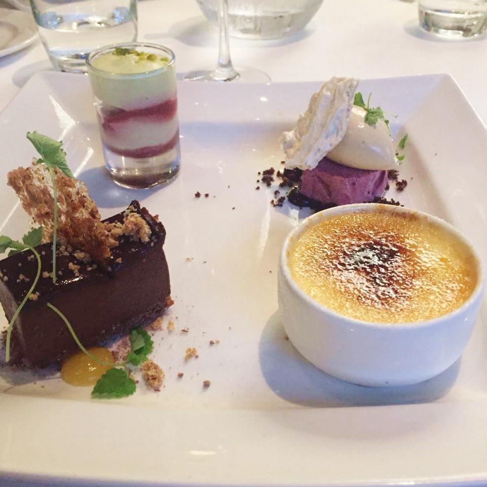 peacock room review rochdale quartet of dessert