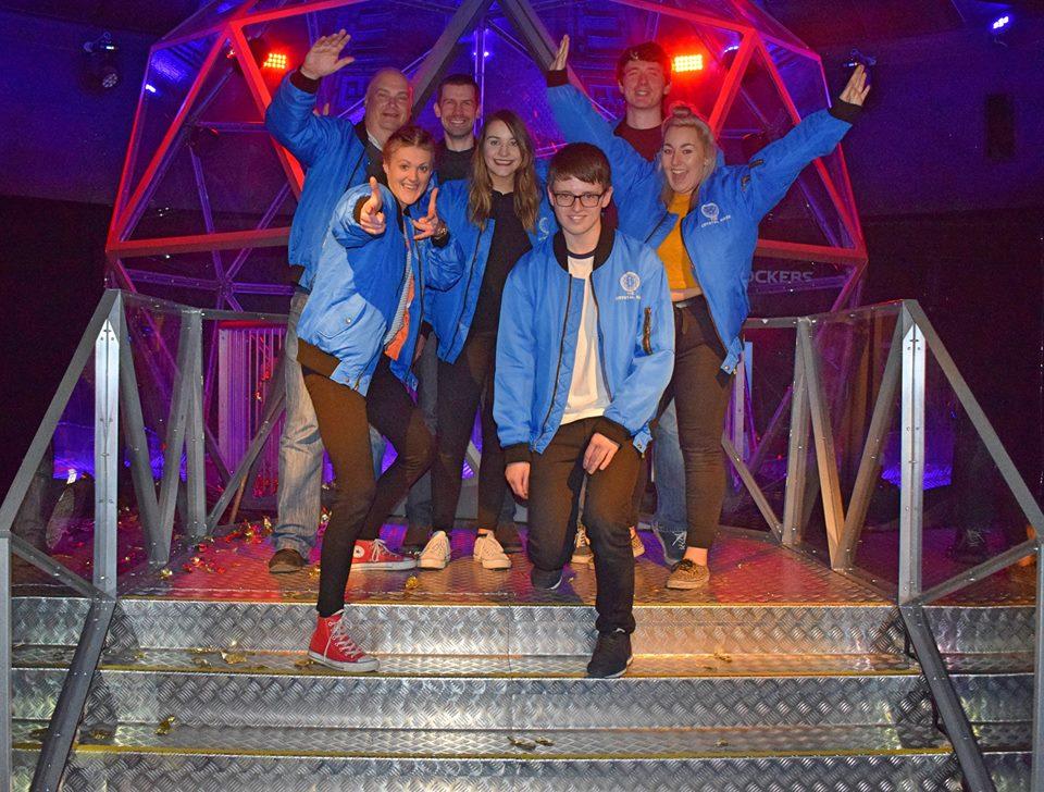 crystal maze london white lion blue mondays team