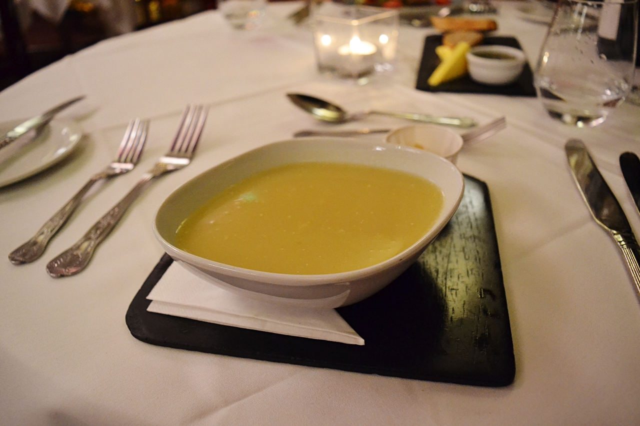 leek and potato sooup beech hill hotel