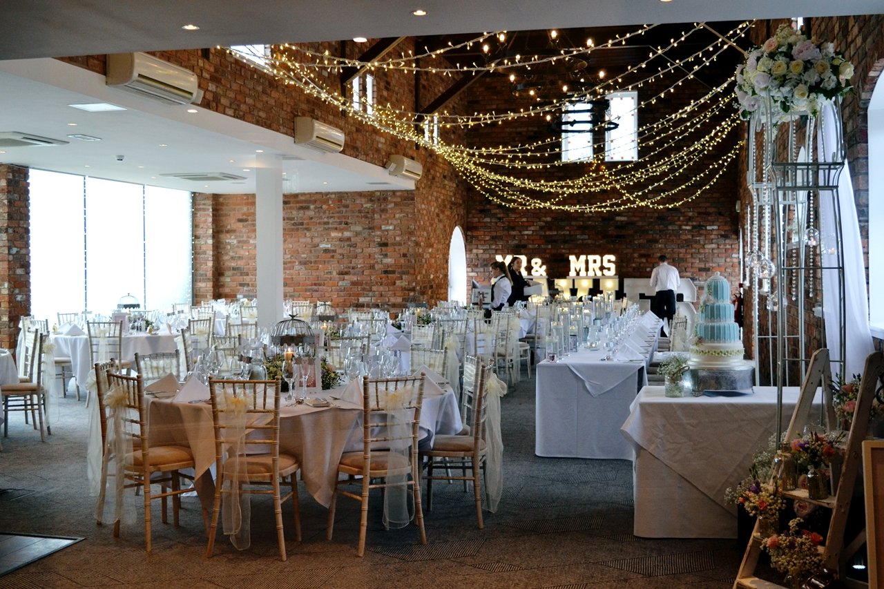 doubletree chester wedding venue space