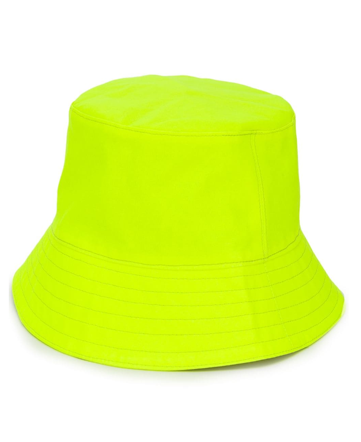 Neon Yellow Bucket Hat - £232 Manokhi