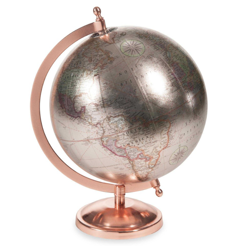 Copper accessories to transform your home decor styleetc for Maison du monde globe