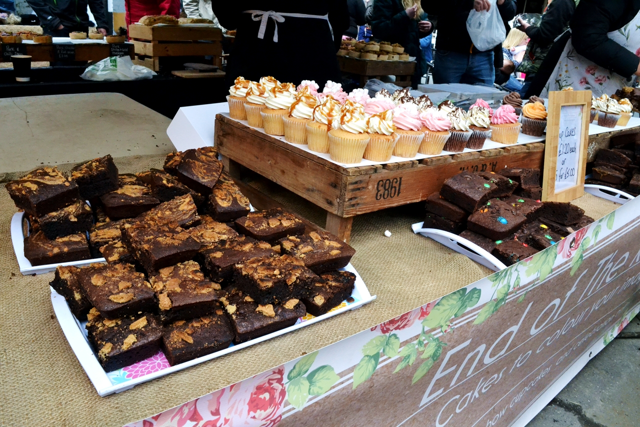 chocolate brownies cupcakes manchester markets heaton park