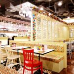 comptoir libanais inside restaurant lebanese manchester