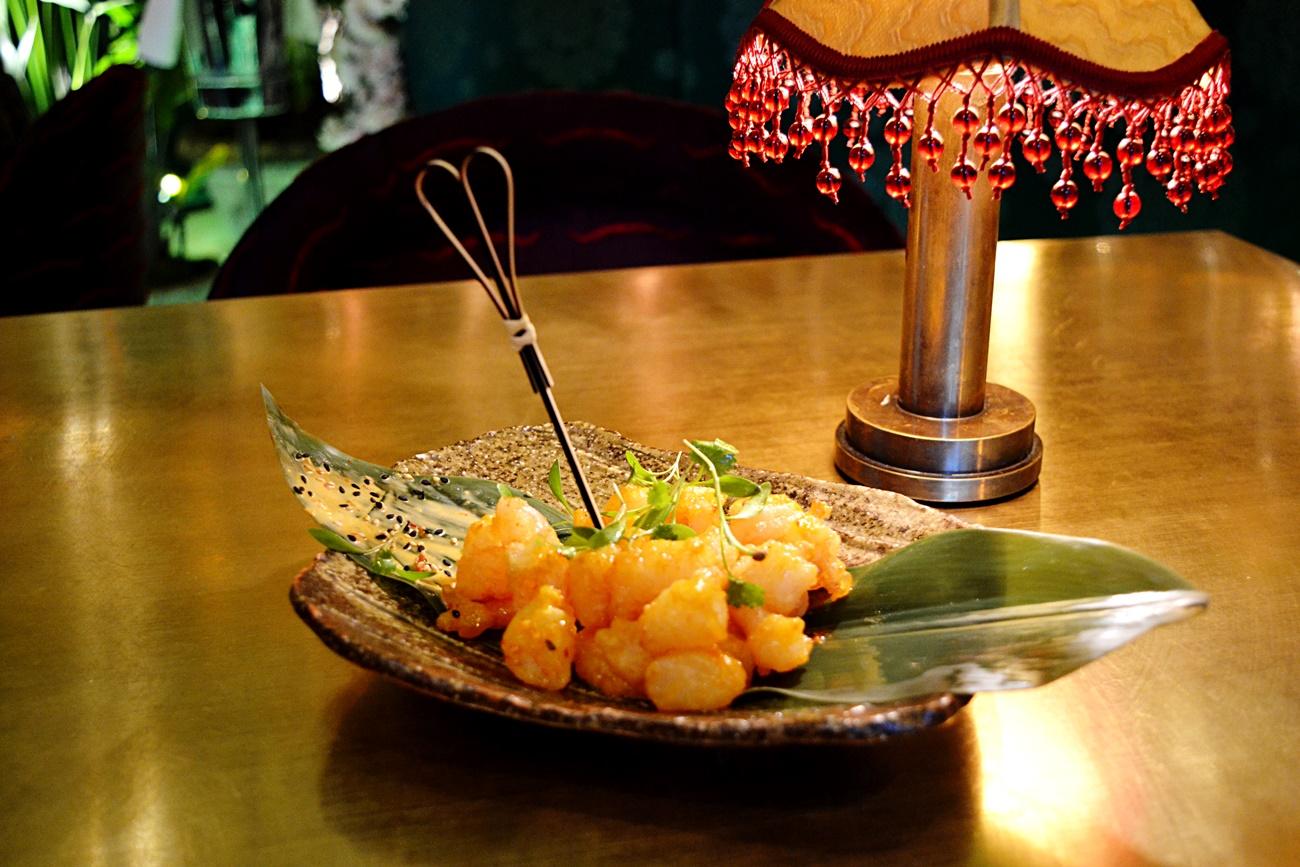 popcorn shrimp the ivy