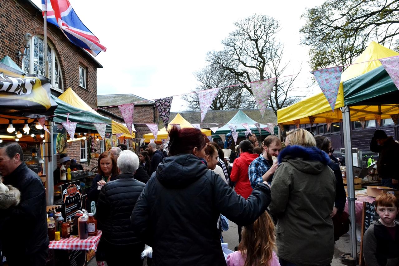 Heaton Park Manchester Easter Markets