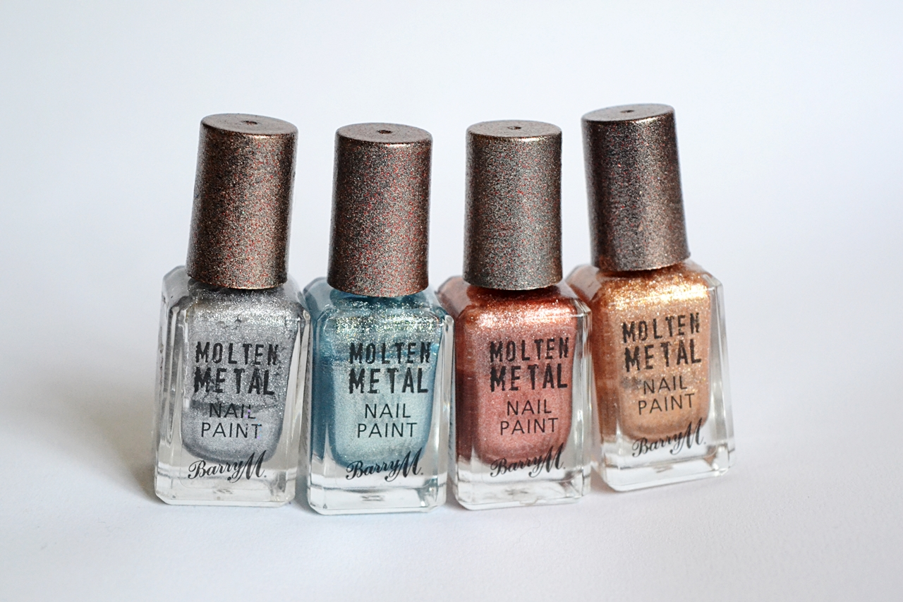 Barry M Molten Metal Shades Review - STYLEetc.