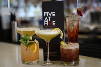 5 at 5 cocktails