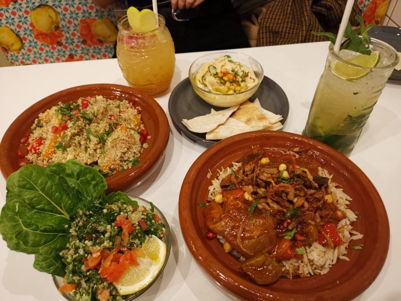 comptoir libanais vegan veganury menu