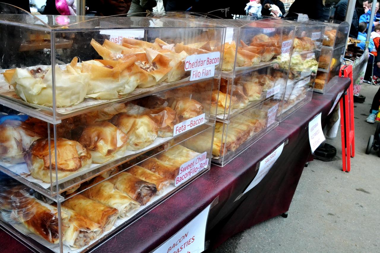 baked goods market manchester heaton park
