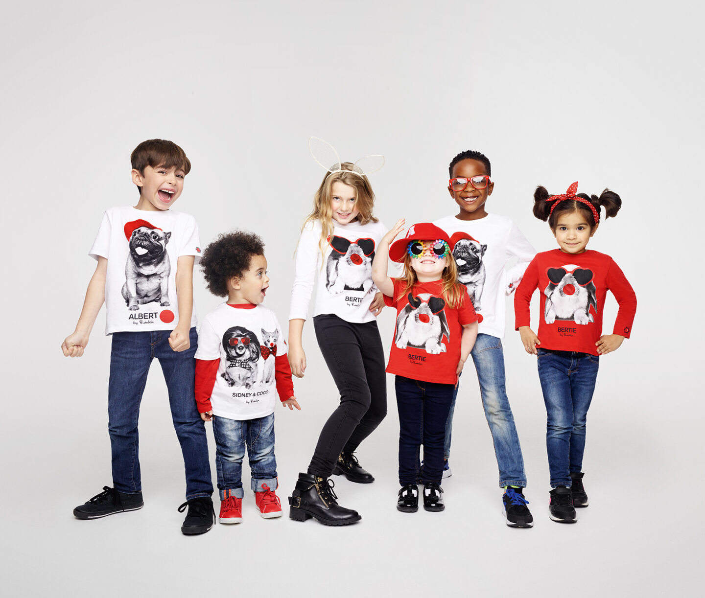Homesense collaborate with Rankin for Red Nose Day Campaign