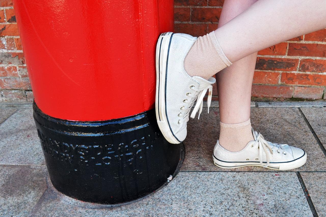 converse mermaid shoes postbox style fashion