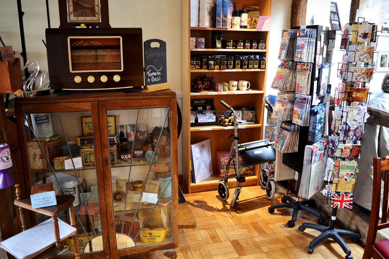 the fourteas 1940s tearoom stratford upon avon shop