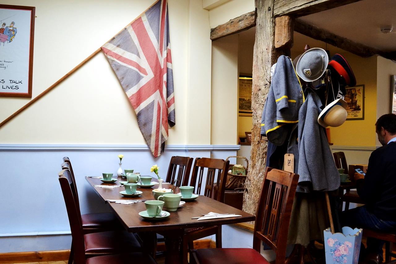fourteas cafe tearoom stratford upon avon inside