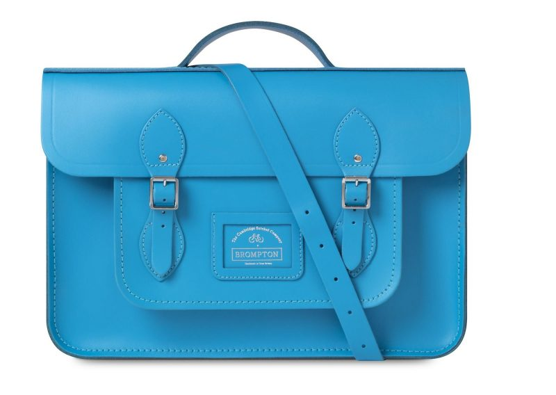 cambridge satchel bright blue batchel