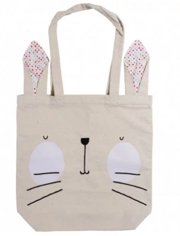 paperchase easter bunny tote bag