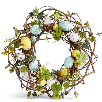 marks and spencers easter wreath