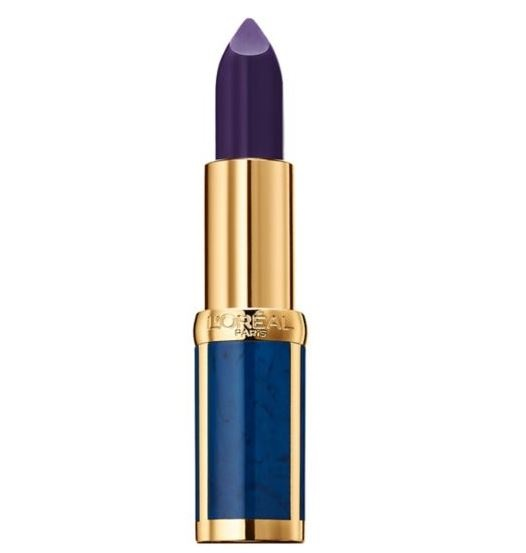 loreal balmain color riche blue lipstick