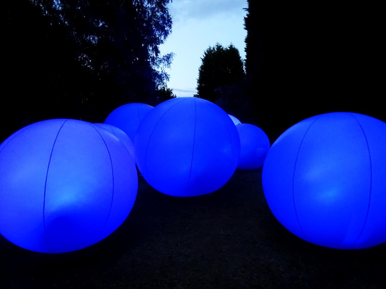 bluedot big blue balls festival