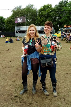 bluedot festival style patterned shirts