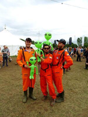 space fashion festival bluedot spacemen