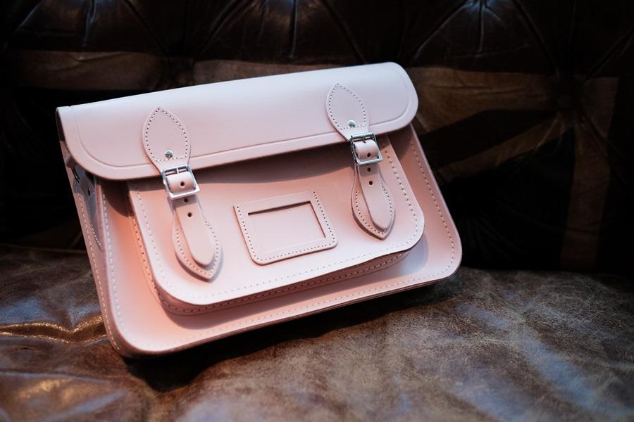 cambridge satchel dusty pink bag my bag mybag.com
