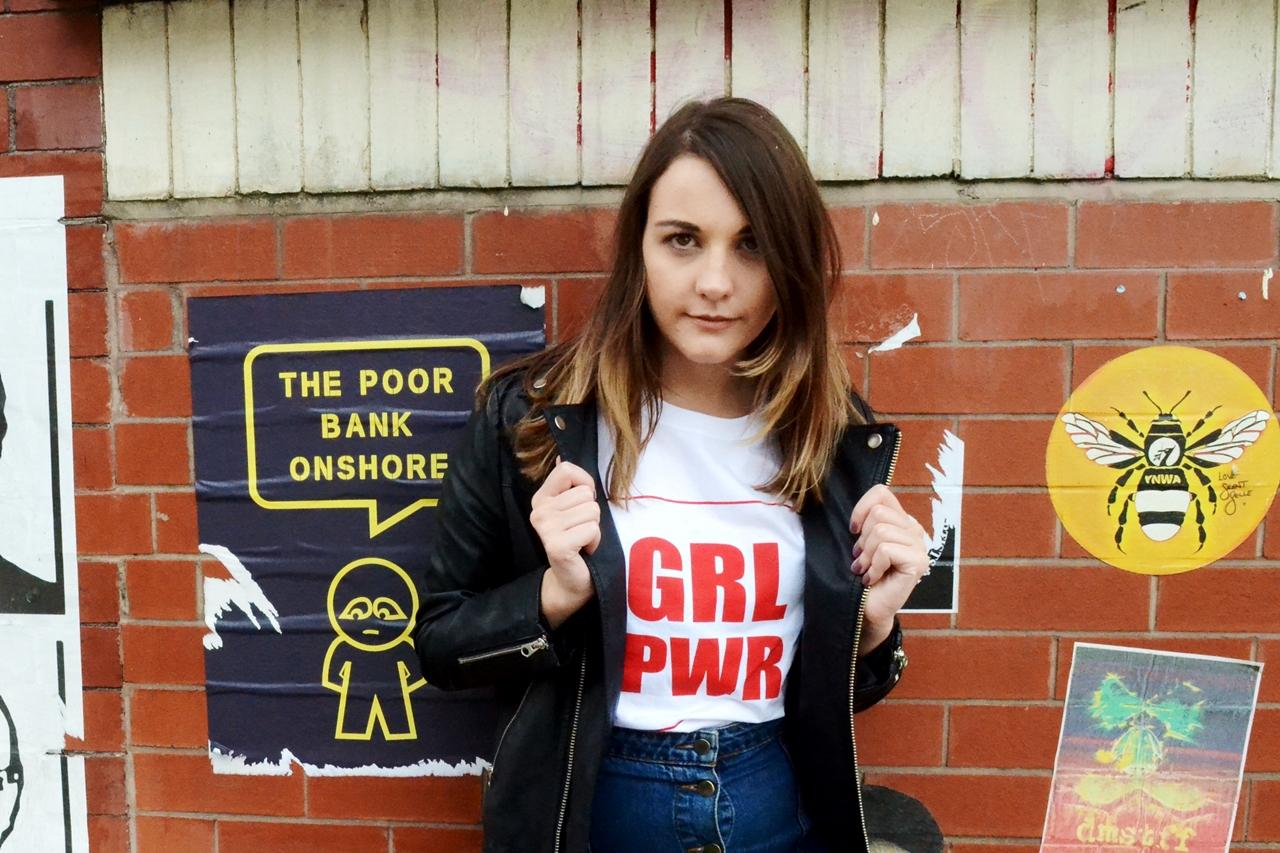 grl pwr girl power tee lotd slogan fashion