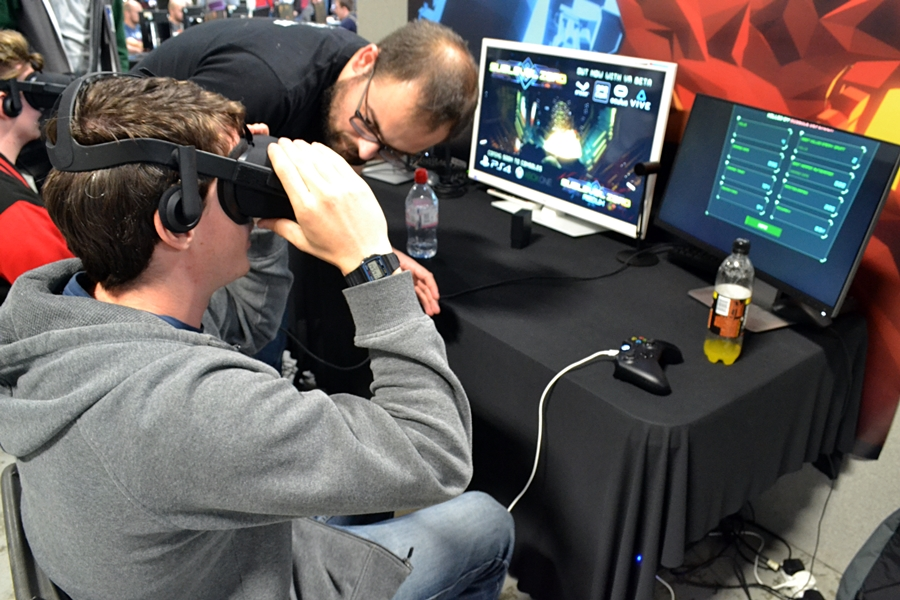 play expo gaming event manchester red bull 2016 city vr virtuall reality