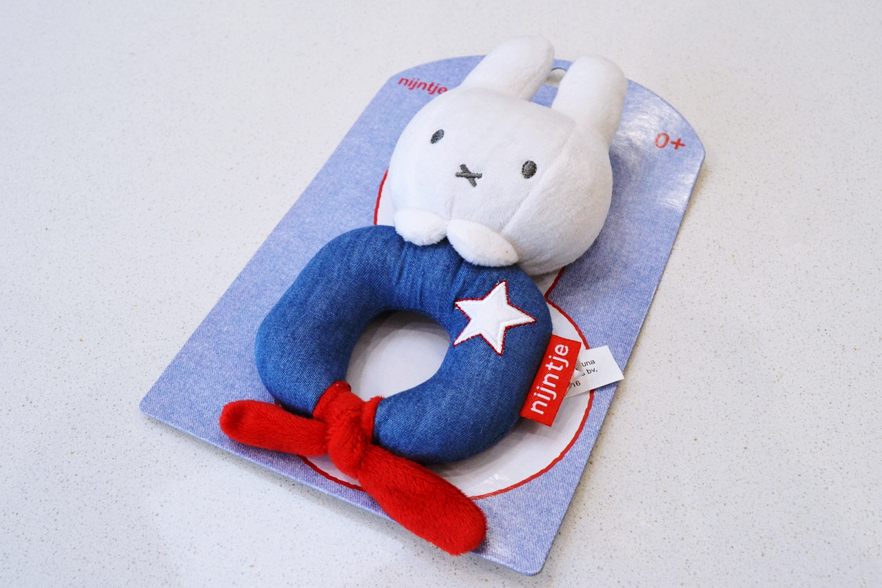 miffy baby rattle review toys 0-6 months