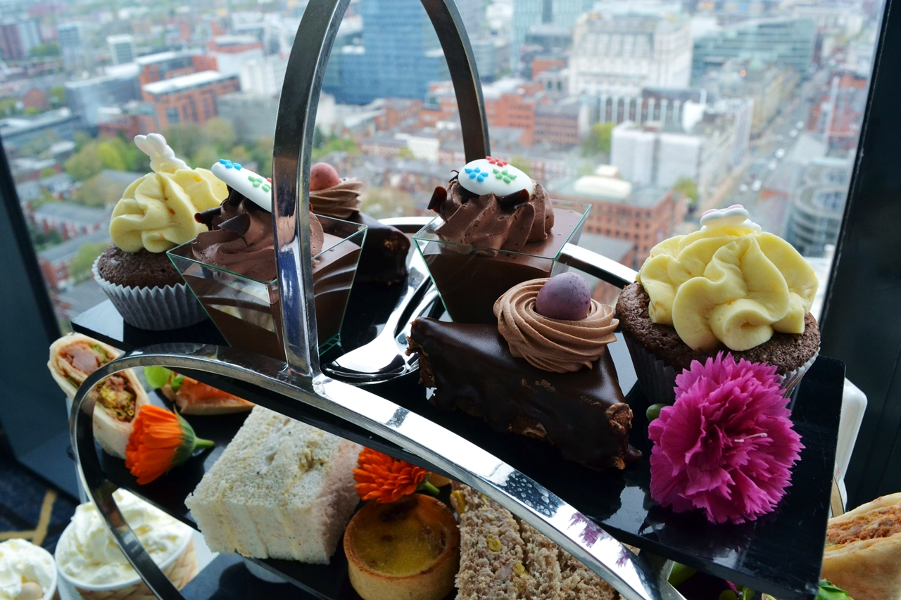 chocolate dessert afternoon tea easter cloud 23