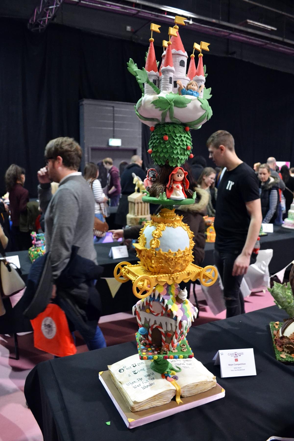 cake and bake show event city manchester 2016 cake show