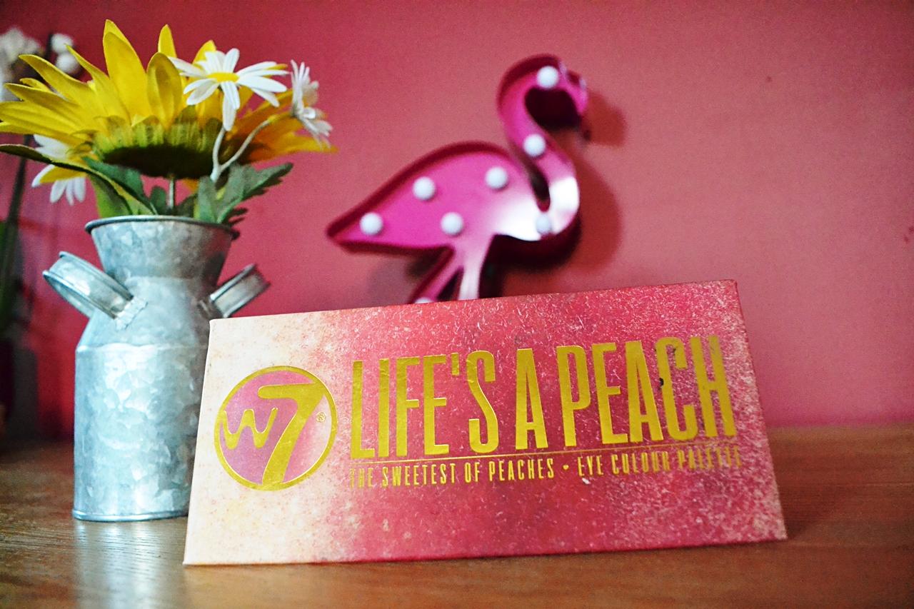w7 lifes a peach palette
