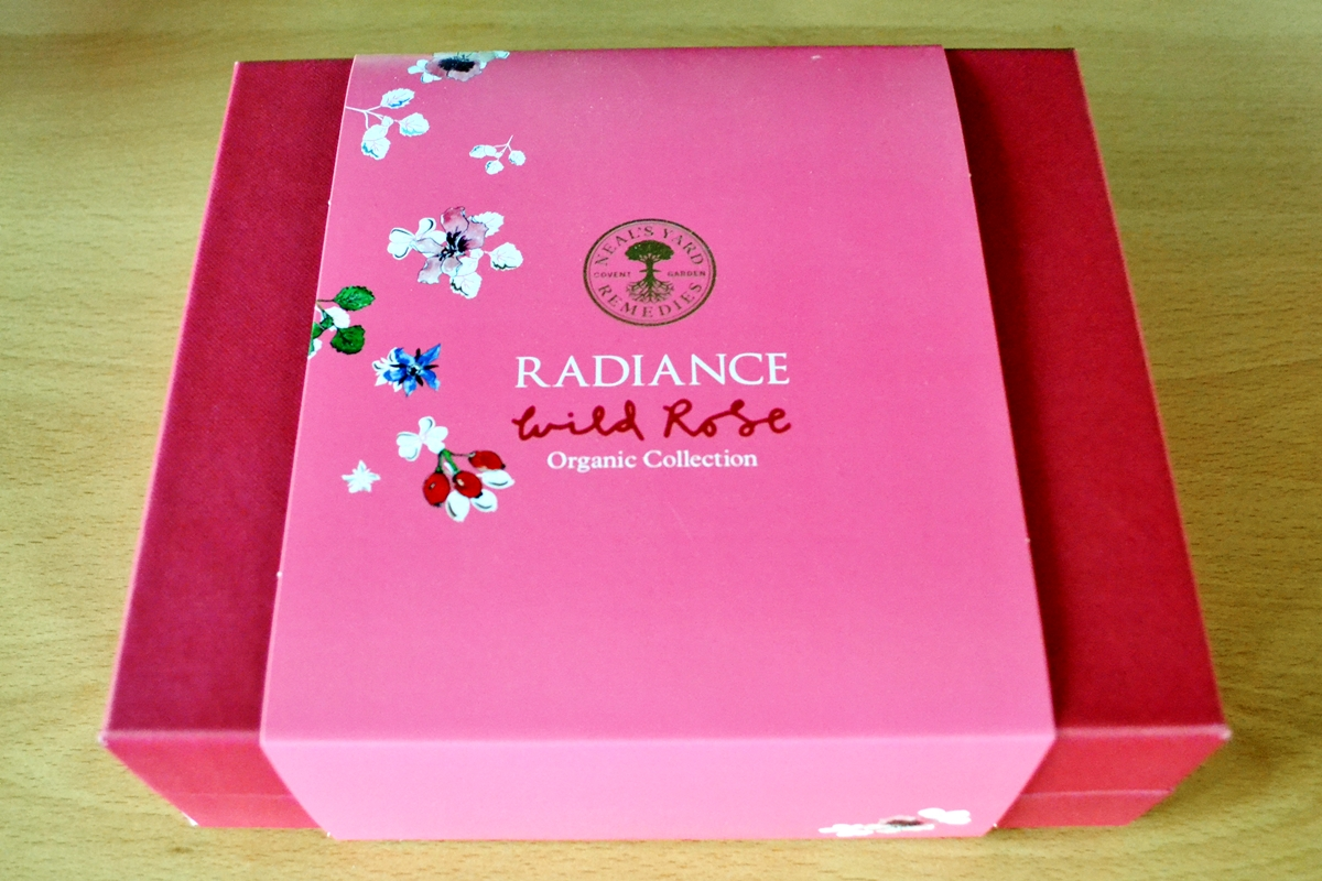 Win Radiance Wild Rose Set from Neal's Yards Remedies