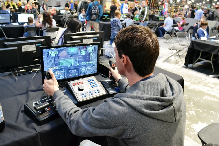play expo gaming event manchester red bull 2016 city