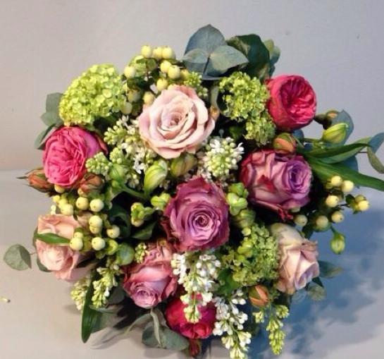 David Wayman Spring Mixed Rose £30