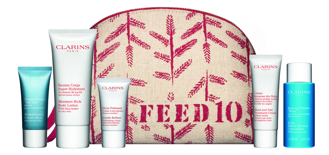 Clarins Collaborate With Feed Projects To Provide School