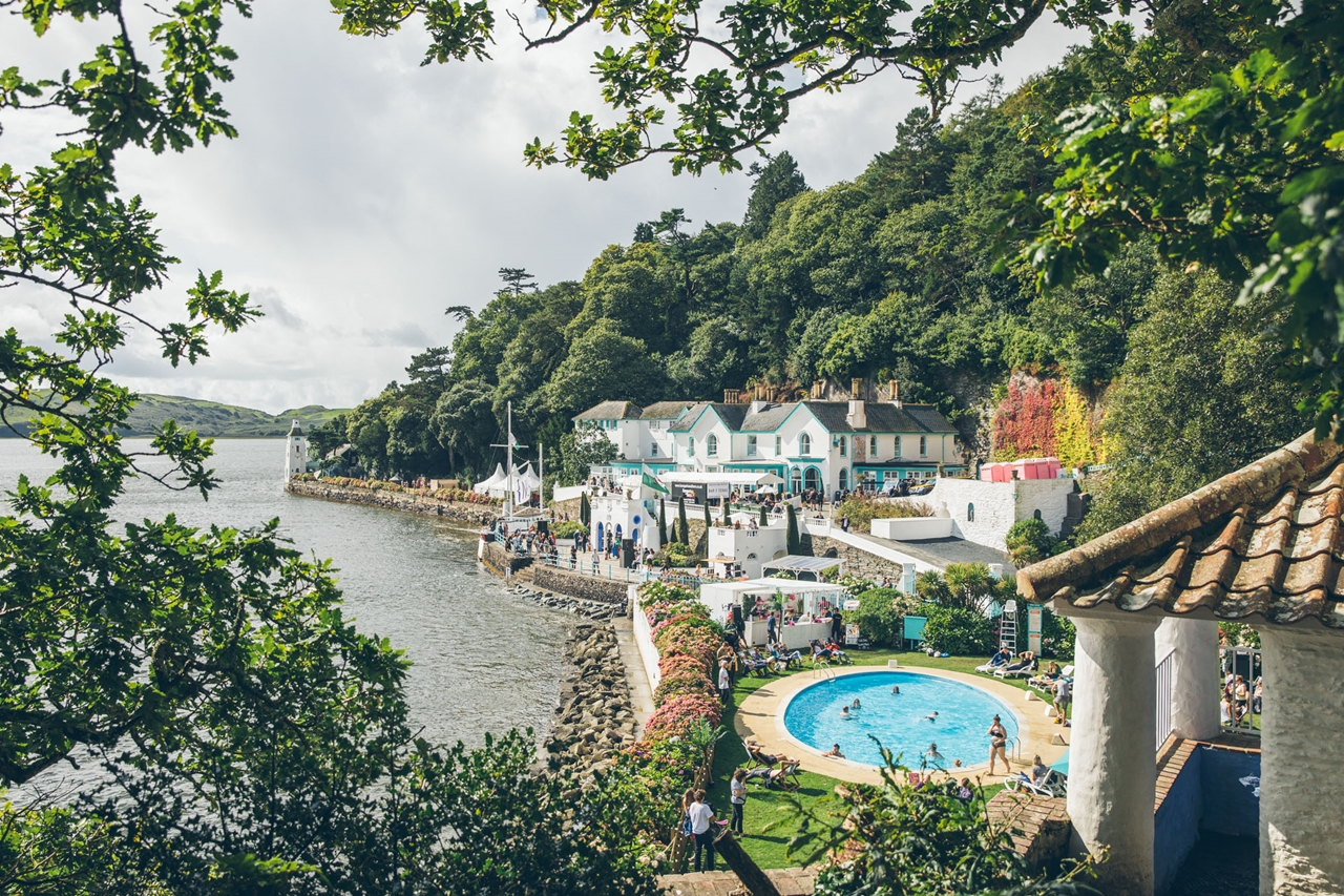 the beach portmeirion wales