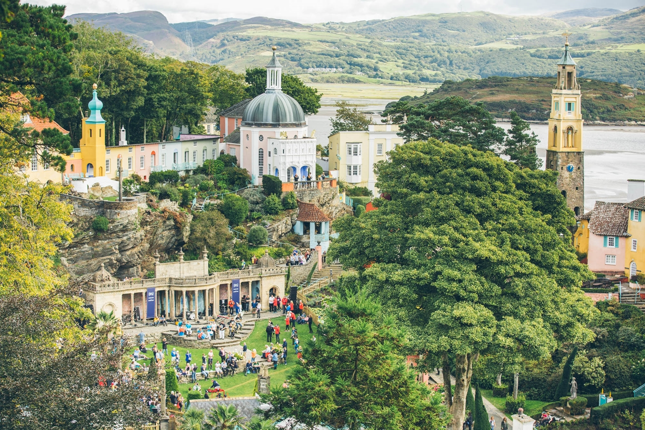 portmeirion village festival no 6