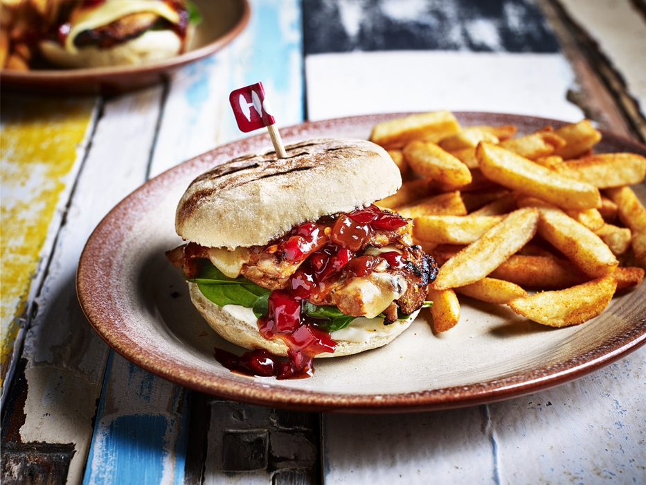 nandos manchester picadilly fino sunset burger