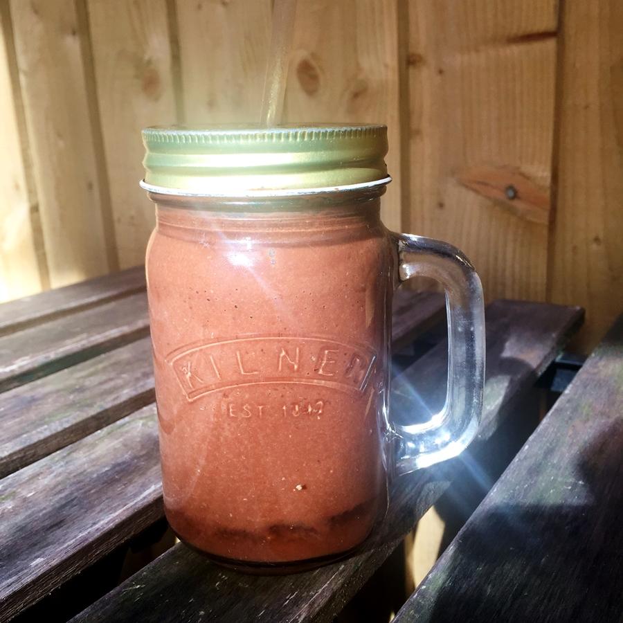 the garden hale holy cacao smoothie banana