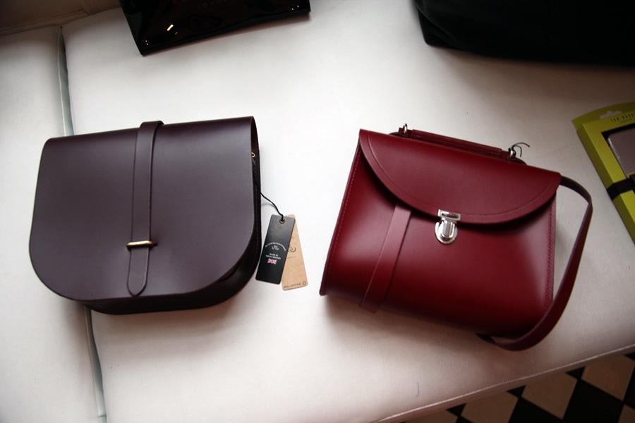 cambridge satchel poppy saddle bag country attire