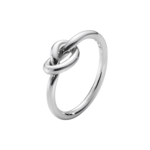 LOVE KNOT ring sterling silver