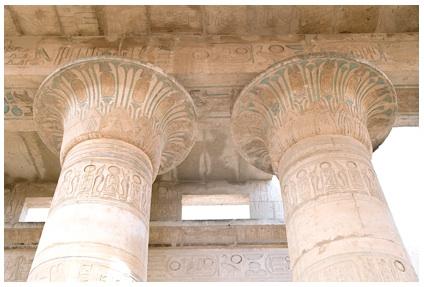 Lotus Topped Columns