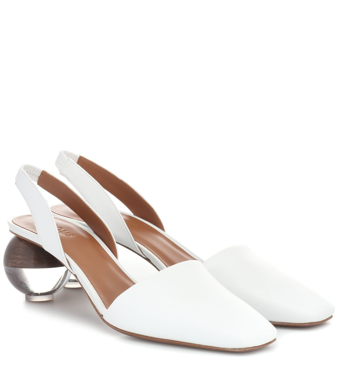 neous Lancastrella leather pumps