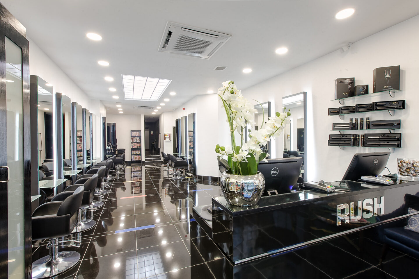 Rush Hair opens Northern Flagship Salon on Deansgate Manchester